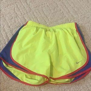 Nike Dri-Fit Neon Running Shorts